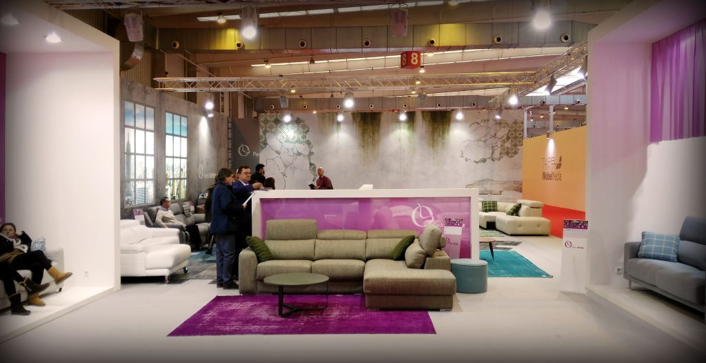 Grupo alc trabaja en 11 stand para la feria del mueble de zaragoza 2016 grupo alc - Ferreteria ortiz interiorismo madrid ...