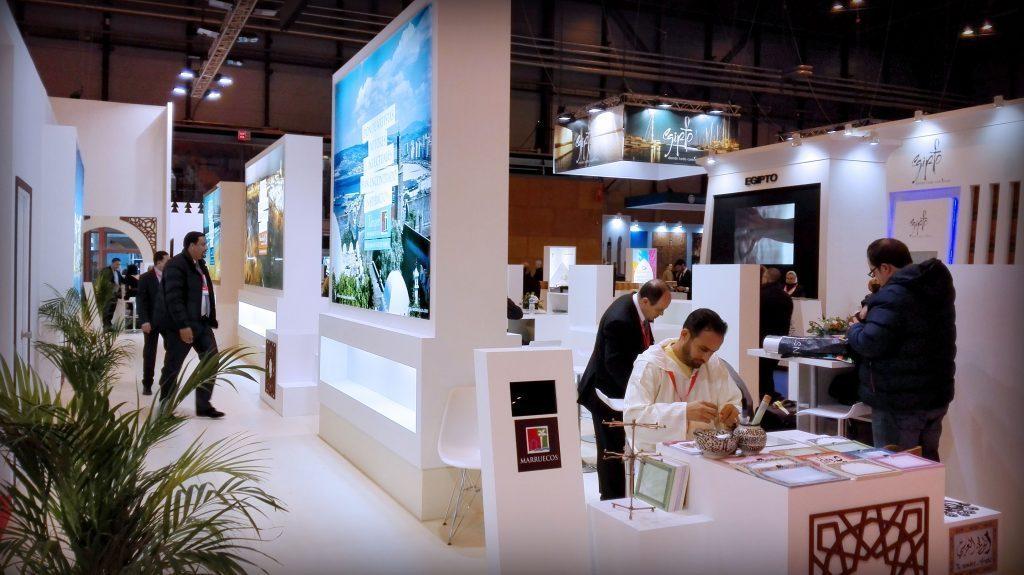 Exhibition Stand Tenders 2016 : Grupo alc construye el stand de marruecos en fitur