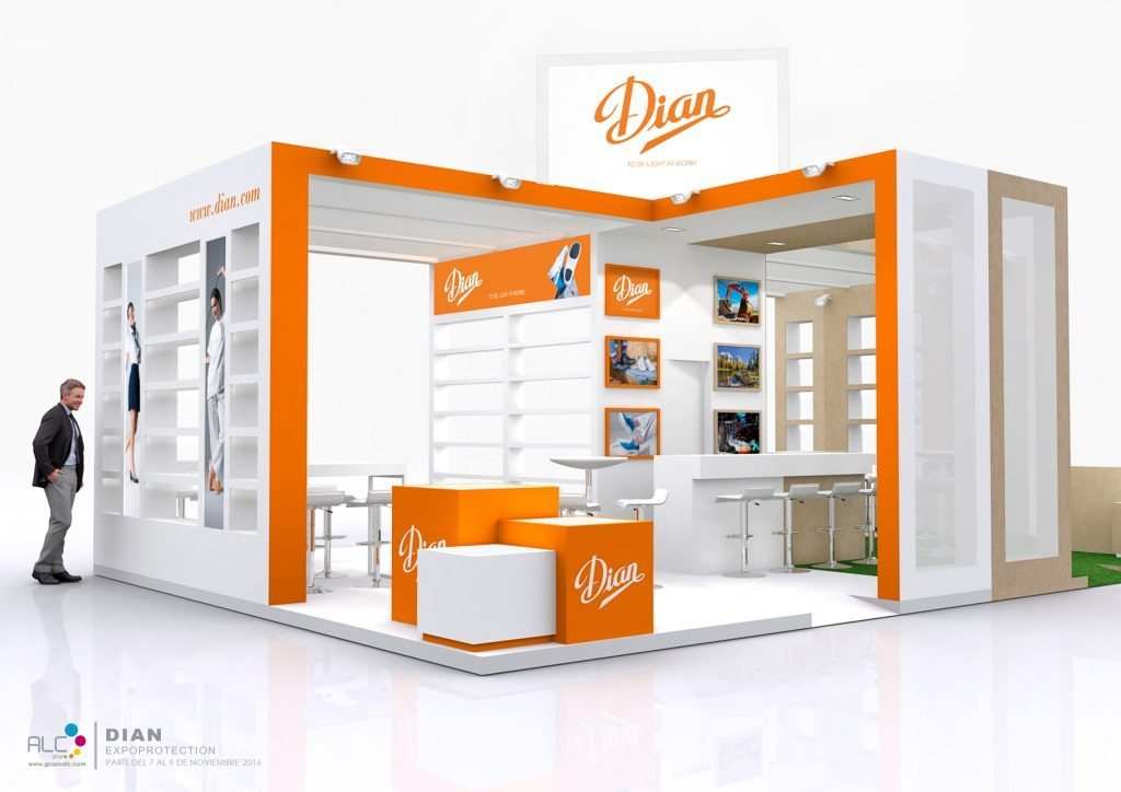 GRUPOALC_STAND_EXPOPROTECTION_DIAN_GARSPORTS_RENDER