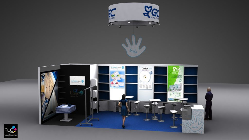 GrupoALC- Stand GOMACAMPS - ISSA/Interclean