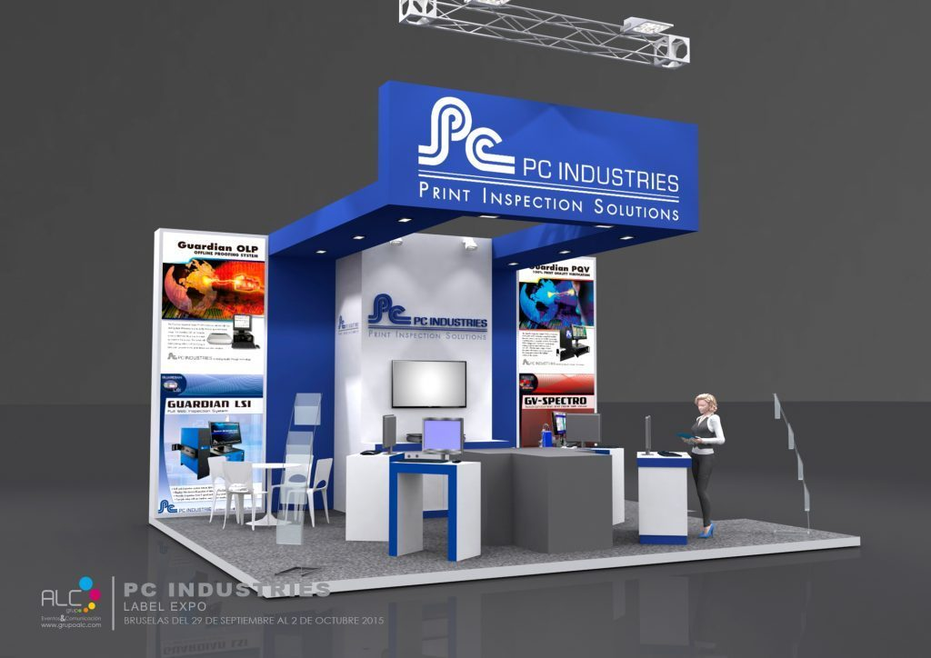 GRUPOALC_STAND_LABEL_EXPO_PC_INDUSTRIES