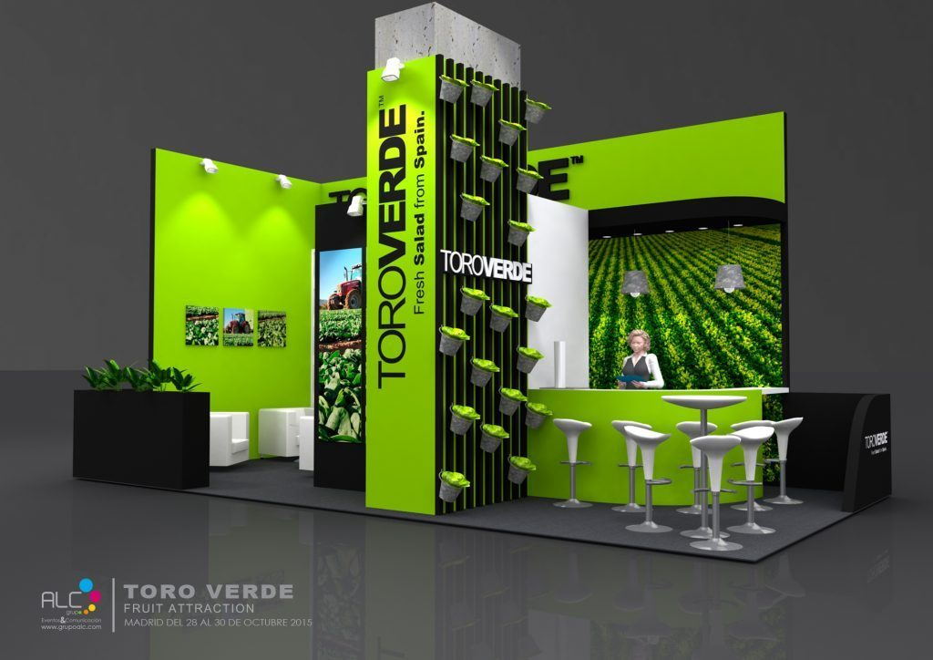 GRUPOALC_STAND_FRUITATTRACTION_TORO_VERDE_RENDER